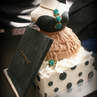 Cute Clothes Cake Inspired by Serena van der Woodsen from Gossip Girl