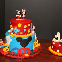 Another Mickey Mouse Cake