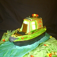 Canal Boat Cake