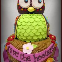 Save The Hooters! I made this cake as a donation for our local Susan G. Komen race for the cure in Alexandria, LA. I got the inspiration from Casa de Cupcake...