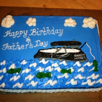 Summer Boating All in buttercream