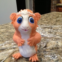 Chipmunk Chipmunk cake topper, not the best in the world but had fun playing and using RKT.