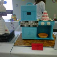 Easy Bake Oven From 1963   My easy bake oven for the Panhandle Cake Crumbs contest 2011. I came in 4th!
