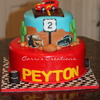 "Cars Themed Cake ""Cars"" themed cake"