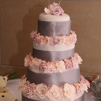 Wedding Cake For Cousin 1st time make a tiered cake and a large cake. Has anyone got any advise on what rose petal cutters they use to create large roses? I had...