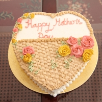 Mothers Day Cake Tried to copy a cake pic I saw