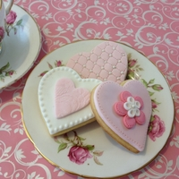 Sweet Valentine Cookies I wanted to have a go at creating some sweet Valentine cookies and came up with these. My husband isn't a great cookie eater - so I...