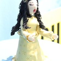 The Opera Singer made this cake for: Concours de musique Int'l. de Montreal