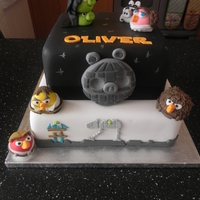 Angry Birds Star Wars Made for my son's 5th Birthday, he's a huge angry birds fan