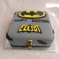 Batman 4Th Birthday   Made for my nephew's 4th birthday