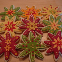 Fall Flowers Cookies