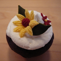 Autumn Flowers Cupcakes