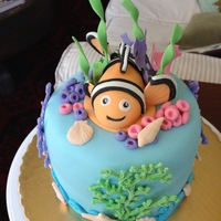 Nemo Birthday Cake My daughter is 34 but has always loved Nemo!!