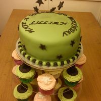 Wicked Themed Cake