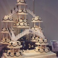 My Cakes From 15 tier Wedding Cake Dispaly at a Confectioners Exhibition from 1998 and the german say this is not our way!