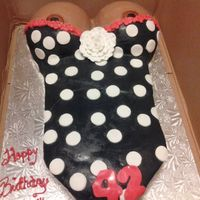 Naughty Birthday Cake