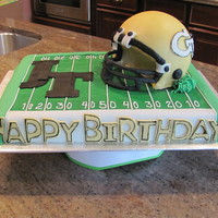 Georgia Tech Cake Birthday cake for a GA Tech fan!