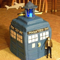 Dr. Who I made this for my son's b-day
