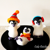 Penguin Caketopper