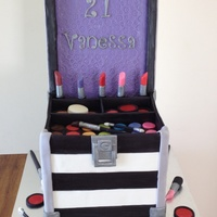 Chocolate Cake Sandwiched With Chocolate Buttercream Iced With Choc Ganache And Covered With Fondant Ever Since I Saw This Cake Original  Chocolate cake sandwiched with chocolate buttercream. iced with choc ganache and covered with fondant. Ever since I saw this cake,...