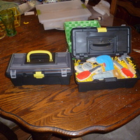 Father's Day Tool Set Cookies father's day cookies, found the tool box at the 99 cent store