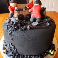 Coal Mining Cake I was asked to make a coal mining cake. The cake they asked me to go by had dwarf like miners (sort of like Snow White). I would have...