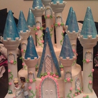Cinderella Princess Fairytale Castle