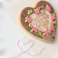 Wood You Be Mine Fondant Decorated Cookie With Royal Icing Details Tutorial Available Wood you be mine? Fondant decorated cookie with royal icing details. tutorial available.