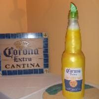 Corona This cake was about 3ft. tall made for a 30th birthday