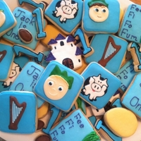 Jack And The Beanstalk Cookies Cookies for my nephew who is turning one.