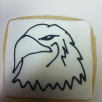 Eagle Sugar Cookie