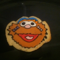 Zoe Sesame Street Sugar Cookie