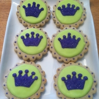 Princess Crown Cookies   Inspired by Goosie Girl