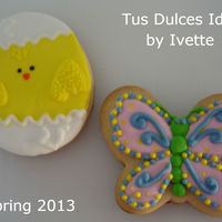 Easter Cookies   royal icing decorating.
