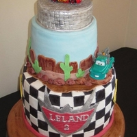 Disney Pixar Cars Cake