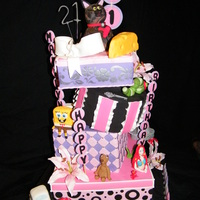 My Daughters 21St Birthday Cake