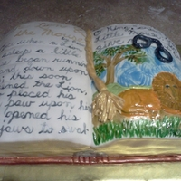 Book Of Fables Cake
