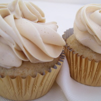 Elvis Banana,peanut Butter Cupcakes Banana cupcakes (recipe from winner of Cupcake Wars) frosted with Peanut Butter Swiss Meringue Buttercream. I wish you all could smell and...