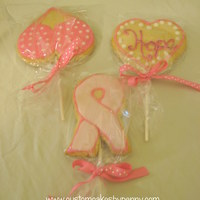 Breast Cancer Awareness Cookie Bouquet