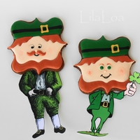 Leprechaun Buddies I just want to be clear -- only the heads are made out of cookie.
