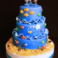 Under The Sea Cake Can I say how much I LOVE molds?