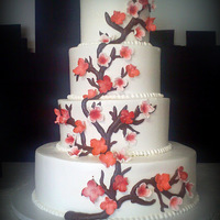 Cherry Blossom In Buttercream