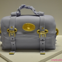 Mulberry Alexa Cake My first purse cake!:)