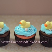 Rubber Duck Cupcakes...