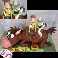 Toy Story Cake 53 cm long