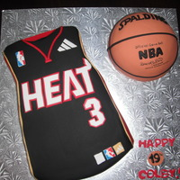 Heat Jersey And Bball