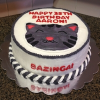 The Big Band Theory Themed Cake This is a cake I made for someone who loves The Big Bang Theory. The customer wanted the Soft Kitty head on the cake, along with the text I...