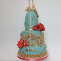 This Cake Was For A Bird Lover And Antique Cage Collector I Made A Floating Cage For The Mid Tier And Antique Moulding Elements On The Bot... This cake was for a bird lover and antique cage collector. I made a floating cage for the mid tier and antique moulding elements on the...