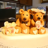 Wedding Bridal Taddy Bear wedding bridal taddy bear