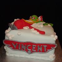 Planes Disney Cake El Chupacabra all edible